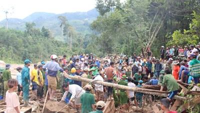 Quảng Nam: Tang thương ở xã Trà Leng, những lời kể hãi hùng