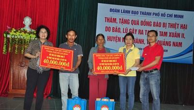 Mặt trận TP Hồ Chí Minh hỗ trợ người dân Quảng Nam