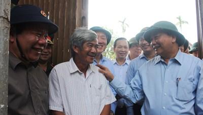 Thủ tướng chỉ đạo khắc phục hậu quả bão lũ tại Quảng Nam, Quảng Ngãi