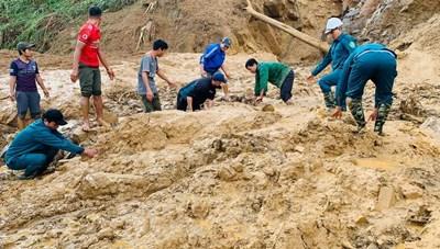 Quảng Nam: Đã tìm thấy 1 thi thể cán bộ xã Phước Lộc