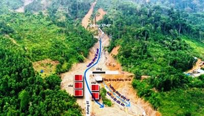 Quảng Nam: Nguyên nhân ban đầu gây sạt lở núi ở Trà Leng