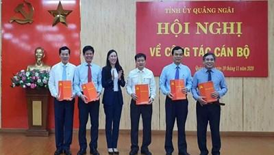 Chủ tịch Ủy ban MTTQ Việt Nam tỉnh Quảng Ngãi làm Bí thư Thành ủy Quảng Ngãi