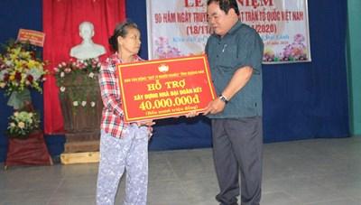 Quảng Nam: Ngày hội Đại đoàn kết ở nơi rốn lũ
