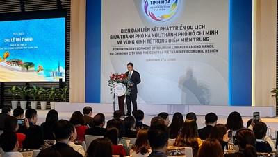 Vùng kinh tế trọng điểm miền Trung liên kết phát triển du lịch