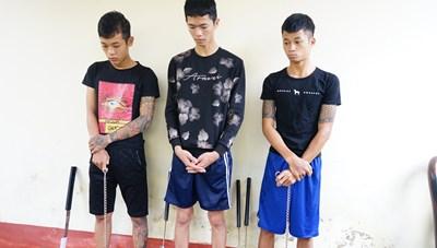 Quảng Nam: Bắt nhóm thanh niên rượt đuổi chém người