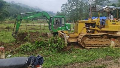 Quảng Nam: Triển khai Khu TĐC cho người dân vùng sạt lở Trà Leng