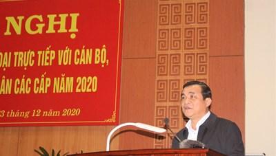 Quảng Nam: Bí thư Tỉnh ủy đối thoại tháo gỡ khó khăn cho nông dân