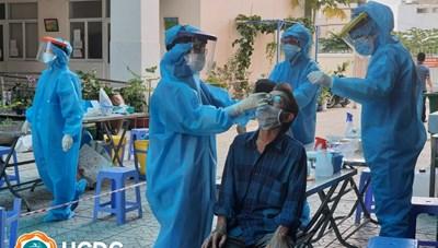 TP Hồ Chí Minh: Phát hiện 50 ca nhiễm cùng hẻm, lấy mẫu tầm soát 3.000 người tại Quận 4