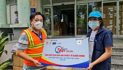 TP  Hồ Chí Minh: Tặng 2015 máy SP02 cho các trạm y tế để tiện theo dõi sức khỏe F0