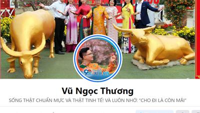 Đề nghị làm rõ Facebook Vũ Ngọc Thương bịa đặt về báo Đại Đoàn Kết
