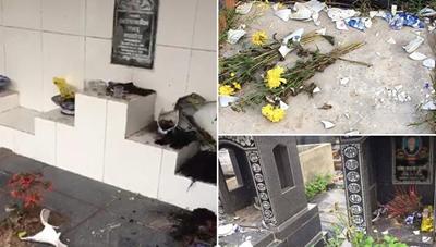 Vụ hàng loạt ngôi mộ ở Hải Phòng bị đập phá: Hé lộ bất ngờ về đối tượng liên quan