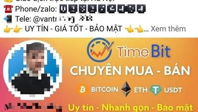 Những giao dịch 'tiền ảo' không kiểm soát trên không gian mạng
