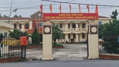 UBND huyện Thanh Oai chỉ đạo kiểm tra xử lý vụ gia đình lãnh đạo xã Liên Châu vi phạm phòng chống dịch