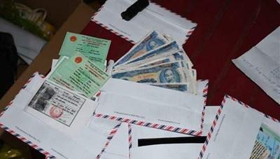 Cặp vợ chồng ở Trà Vinh mua máy scan về in tiền giả, tự tiêu thụ