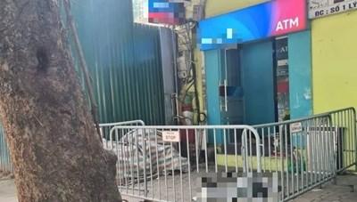 Hà Nội: Người đàn ông chết gục cạnh ATM trên phố Phan Đình Phùng