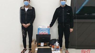Hà Tĩnh: Bắt hai đối tượng lừa đảo 500 triệu đồng qua Facebook