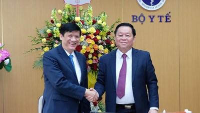 Trưởng ban Tuyên giáo Trung ương chúc mừng ngành y nhân ngày thầy thuốc Việt Nam