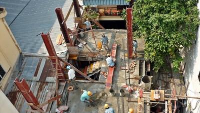 Hà Nội: Dừng mọi hoạt động xây dựng trong thời gian giãn cách xã hội