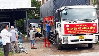 Cần Thơ vận động hơn 26,5 tấn lương thực hỗ trợ TP Hồ Chí Minh