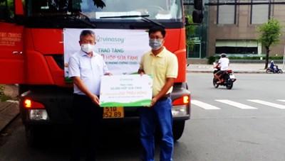 Cần Thơ: Tiếp nhận gần 50 ngàn hộp sữa hỗ trợ lực lượng phòng, chống dịch
