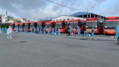 Bạc Liêu đón 200 công dân đầu tiên từ vùng dịch về quê