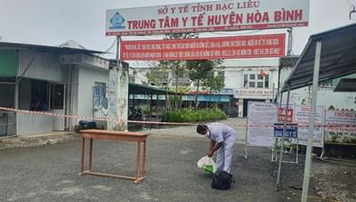 Bạc Liêu: Phong toả Trung tâm y tế huyện vì phát hiện 5 F0