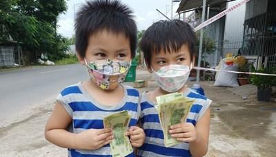 Cần Thơ: Hỗ trợ kinh phí cho nhiều trẻ em F0, F1 hoàn thành cách ly