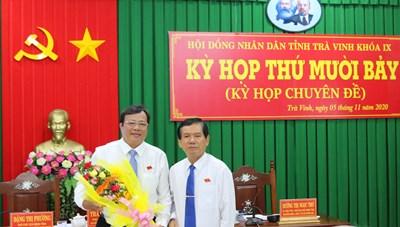 Ông Lê Văn Hẳn được bầu Chủ tịch UBND tỉnh Trà Vinh