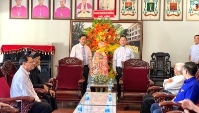 An Giang: Ủy ban MTTQ Việt Nam tỉnh thăm, chúc mừng dịp lễ Giáng sinh