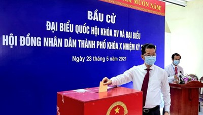 52 người trúng cử đại biểu HĐND TP Đà Nẵng nhiệm kỳ 2021-2026