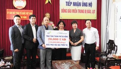 Đà Nẵng: Tiếp nhận trên 460 triệu đồng giúp khắc phục hậu quả bão, lụt