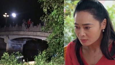 Hương vị tình thân tập 105: Bà Xuân nhảy cầu tự tử sau khi bị bạn thân lừa