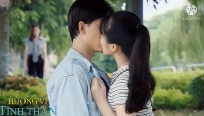Hương vị tình thân tập 108: Huy công khai hôn 'trà xanh' trước mặt Thy