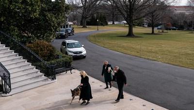 Nhà Trắng chào đón chó cưng của vợ chồng Tổng thống Biden