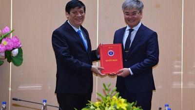 Nhà báo Trần Tuấn Linh được bổ nhiệm Tổng Biên tập Báo Sức khỏe và Đời sống