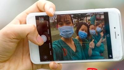 [ẢNH] 200 nhân viên y tế Quảng Ninh lên đường hỗ trợ Bắc Giang chống dịch