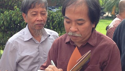 Nhà thơ Nguyễn Quang Thiều: Sống và bày tỏ