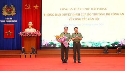 Phó GĐ Công an Hải Phòng được bổ nhiệm Giám đốc Công an Hà Nam