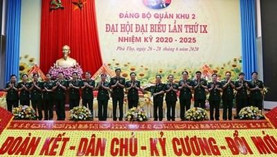 Đảng bộ đầu tiên trực thuộc Quân ủy Trung ương tổ chức thành công Đại hội khóa mới