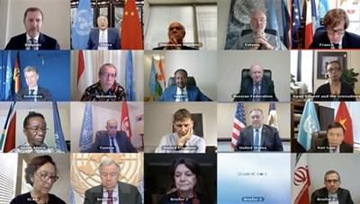 Hội đồng Bảo an Liên hợp quốc thông qua nghị quyết về Covid-19