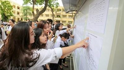 132 thí sinh được miễn thi tốt nghiệp THPT, tuyển thẳng vào đại học
