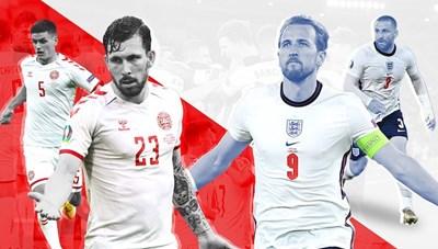 Anh và Đan Mạch đã sẵn sàng đến sân Wembley