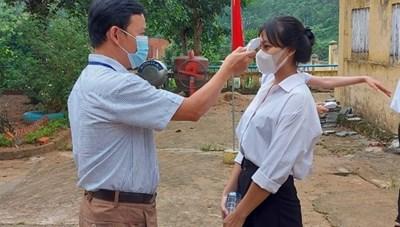 Quảng Nam: Thí sinh vùng sạt lở đất tự tin bước vào kỳ thi tốt nghiệp THPT
