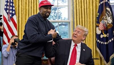 Bầu cử Mỹ: Ông Trump 'dạy bảo' người mới Kanye West