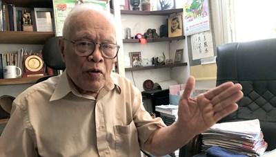 Giáo sư Phong Lê: Đọc, đi, nghĩ, viết