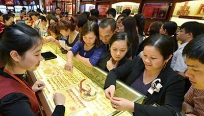 Giá vàng trong nước đồng loạt điều chỉnh giảm, tỷ giá trung tâm tăng