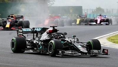 Hamilton thắng chặng đua F1 Hungary
