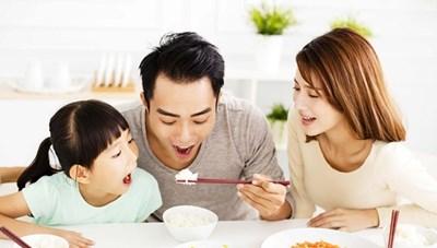 Bữa ăn hợp lý cho gia đình