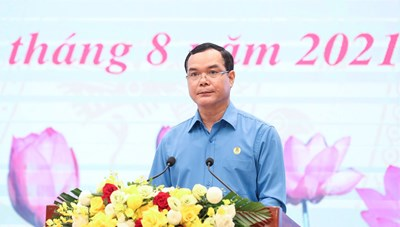 Giai cấp công nhân, tổ chức Công đoàn Việt Nam quyết tâm thực hiện thắng lợi Nghị quyết Đại hội XIII của Đảng