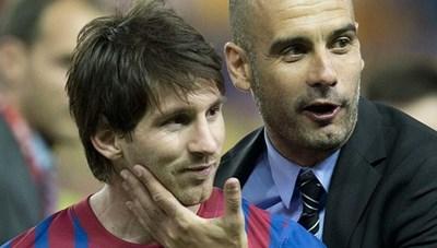 Bố Messi đàm phán với Man City
